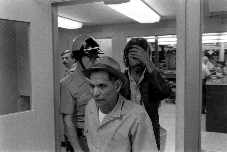 Scene at the U.S.-Mexico border, 1969.