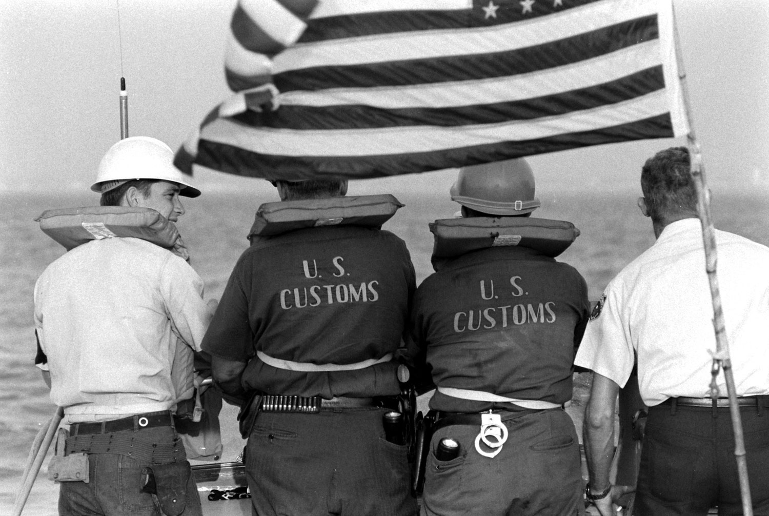 Customs agents, Texas, 1969.