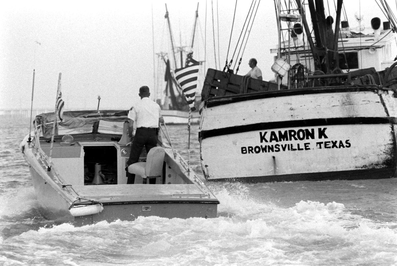 Customs agents, Texas, 1969.