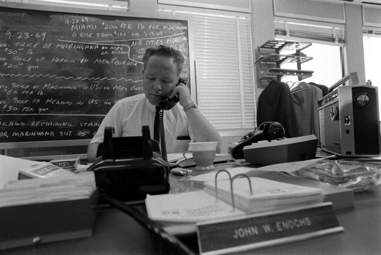 U.S. Customs agent, 1969.