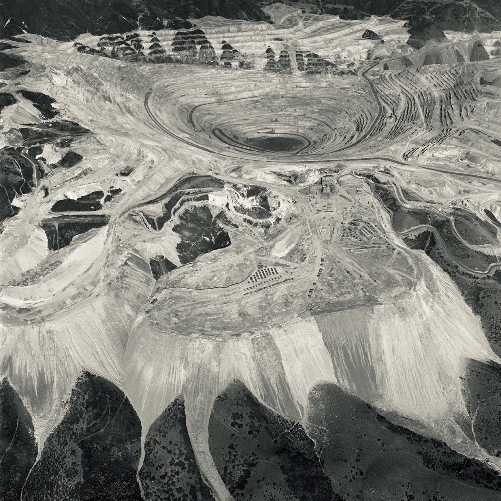 Black Maps (Bingham Canyon, Utah 1), 1985.