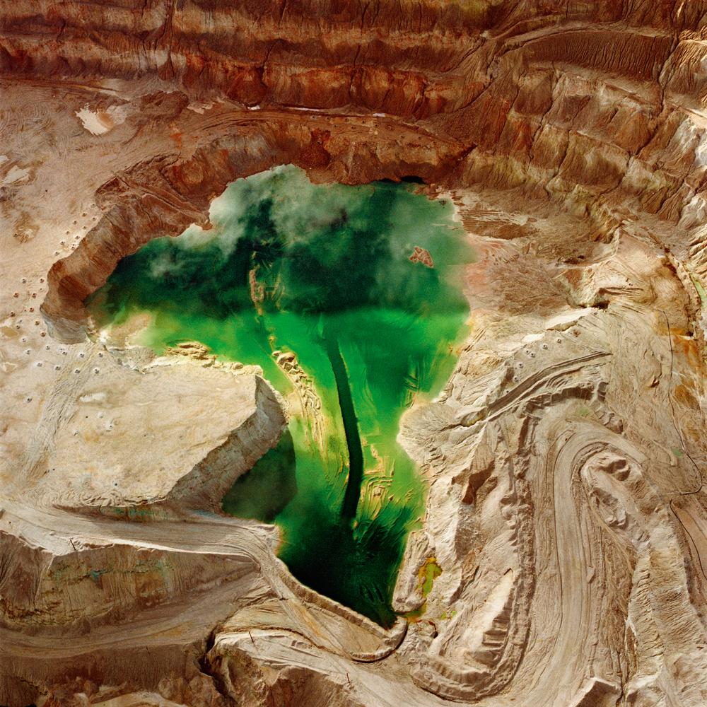 The Mining Project (Inspiration, Arizona 4), 1989.