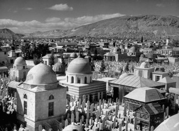 A view of Damascus, Syria, 1940.