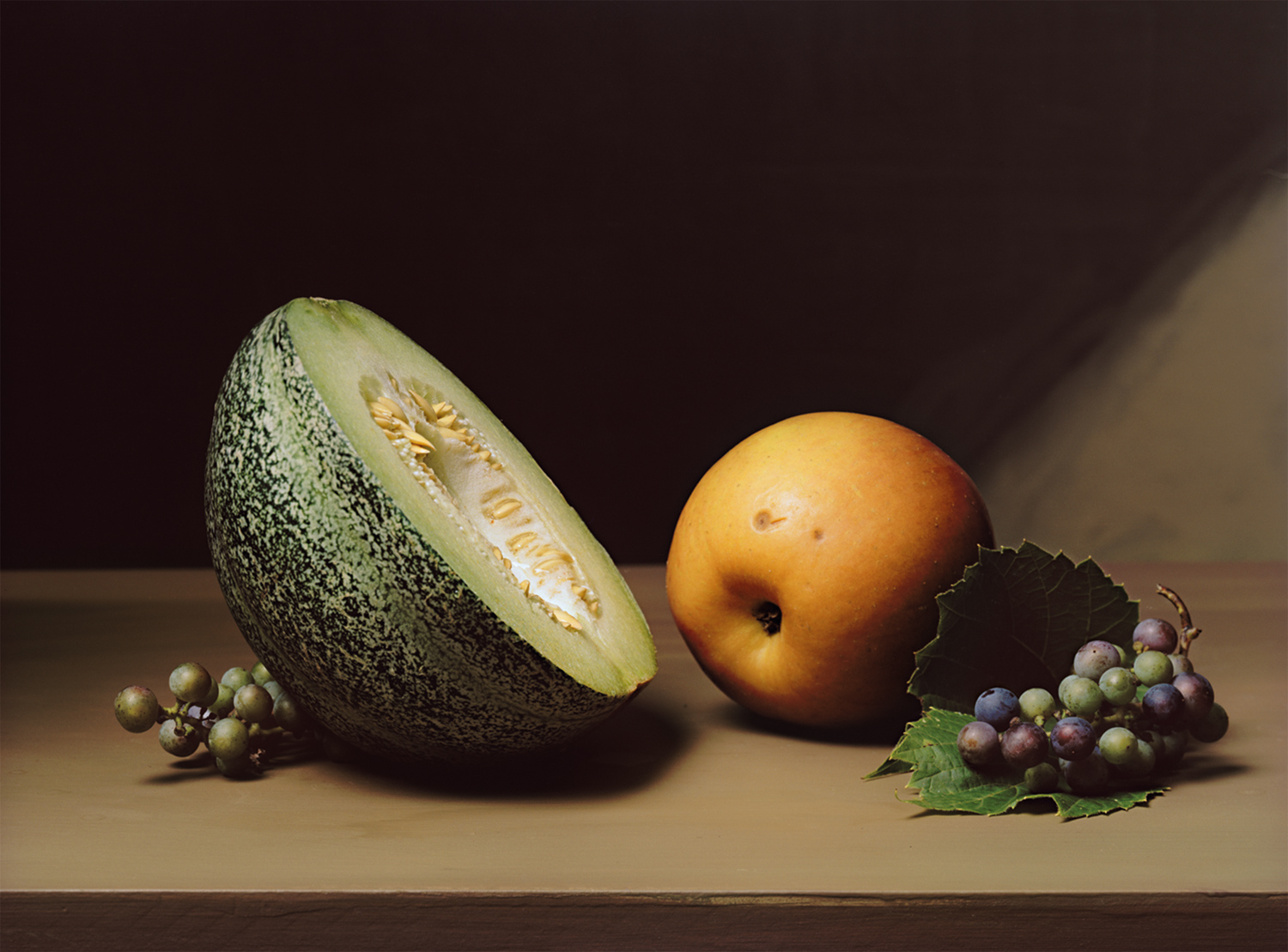 Plate 28 - Still Life with Anne Arundel Melon