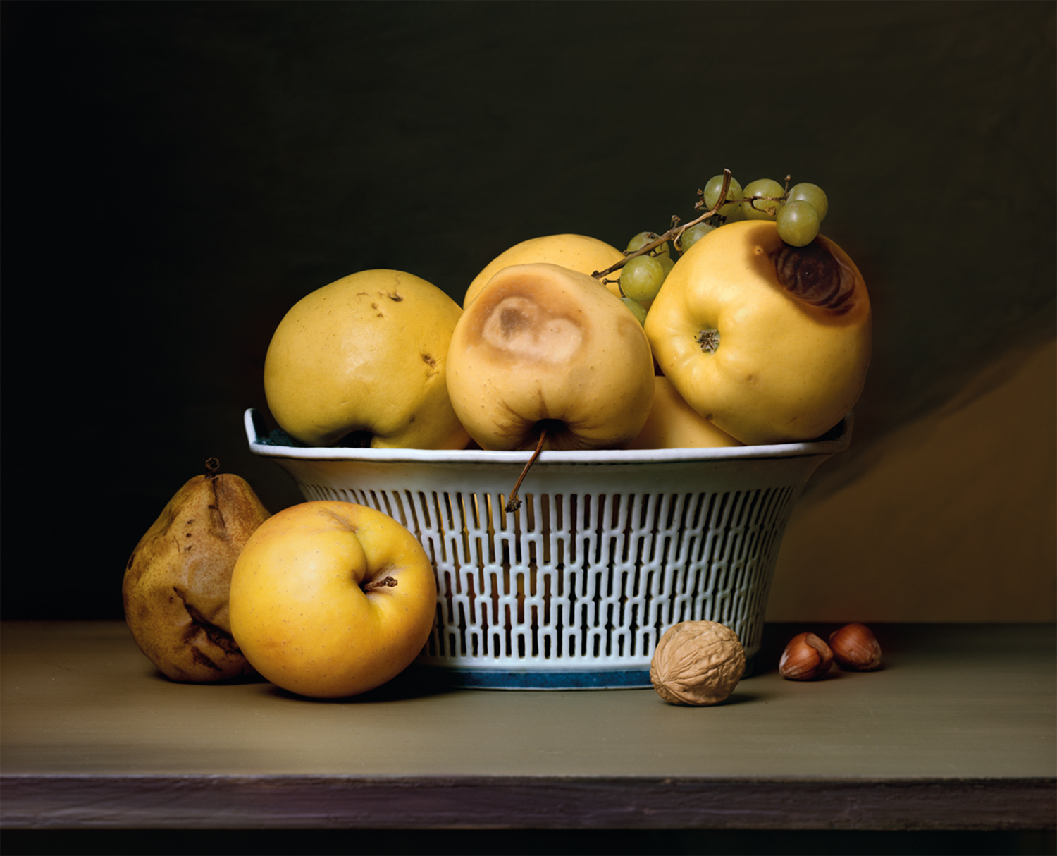 Plate 6 - Apples in a Porcelain Basket