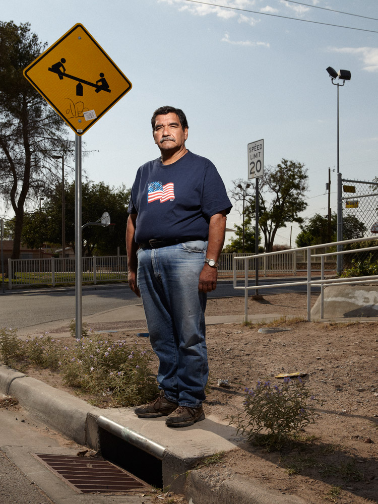 One day, while sitting in front of his church, Saul Sustaida saw a black van pull up to a spot across the street where sidewalk grates kept going missing. Someone pulled up the floor panel of the van while another person lifted out the sidewalk grate, so Saul notified the police. It turned out that drugs were being smuggled through an underground tunnel from Juarez to the Chamizal neighborhood. This particular tunnel is now mortared shut.
