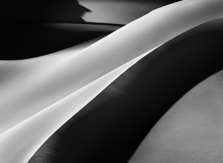 On one of several trips to the Sahara, Salgado encountered this slashing sand dune in southern Algeria.