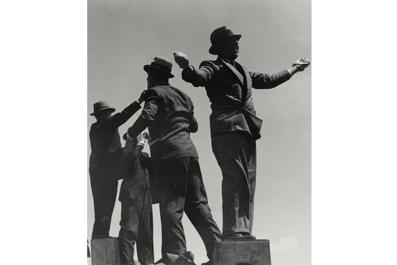 Tic-Tac Men at Ascot Races, 1935