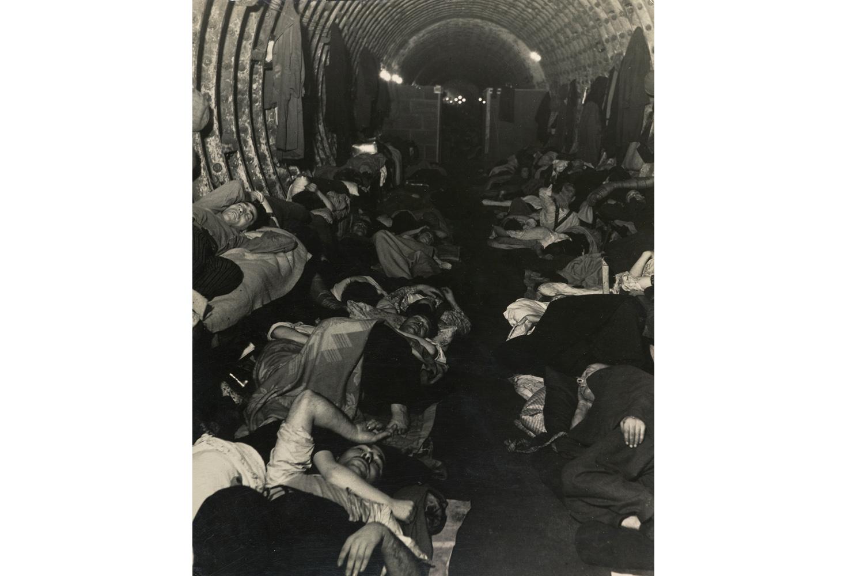 Liverpool Street Underground Station Shelter, 1940