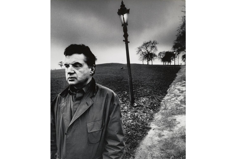 Francis Bacon Walking on Primrose Hill, London,                               1963