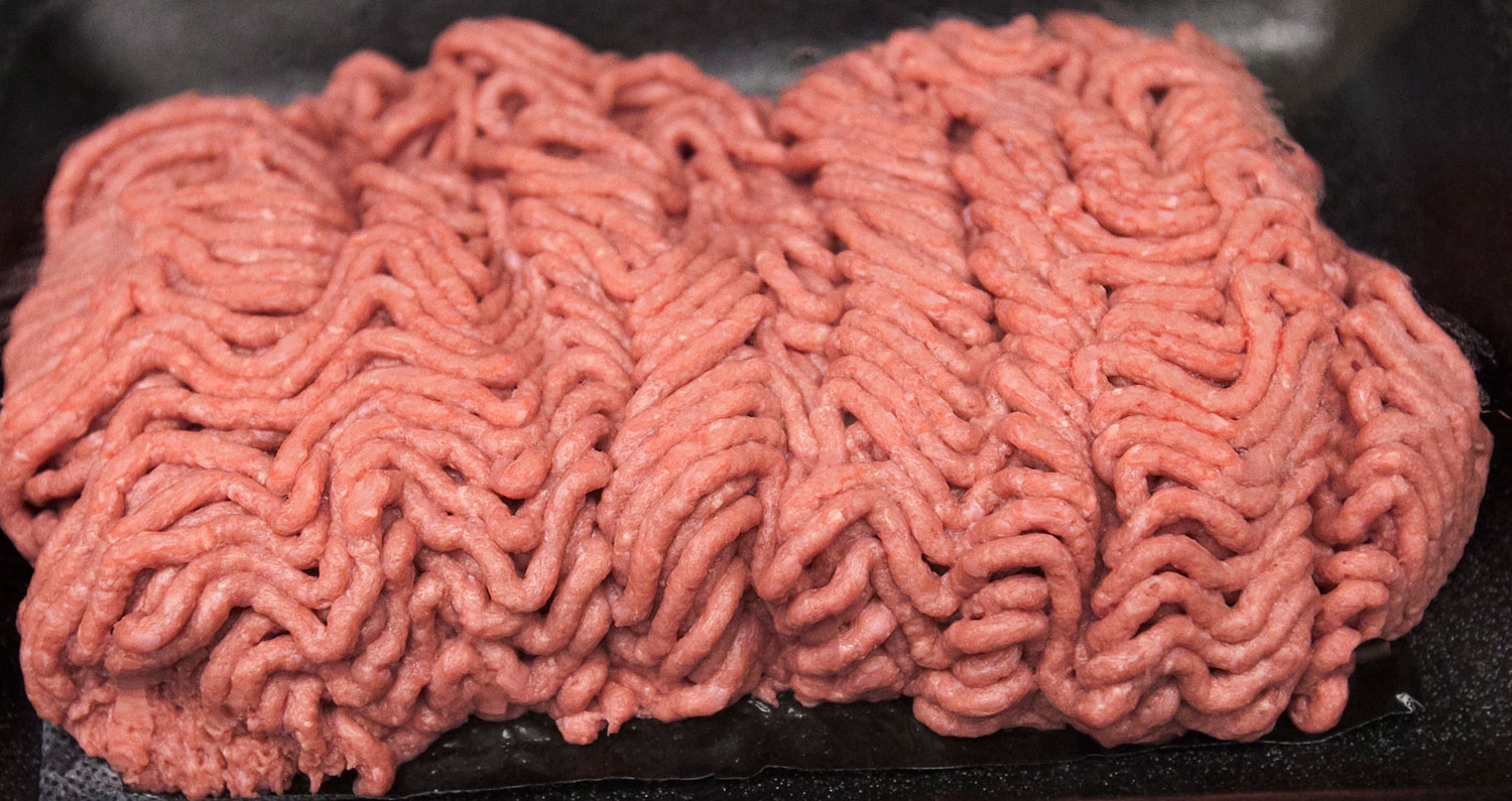 Last year, an estimated 70% of ground beef included lean finely textured beef. But following the  pink slime  coverage by ABC News and other news outlets last spring, it's dropped to 5%.