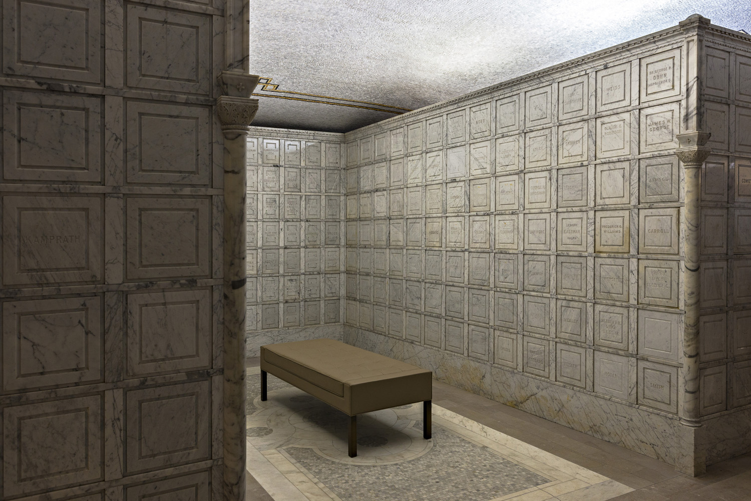 Roughly a third of ashes get scattered, a third get buried and a third get stored in urns. Lakewood Cemetery offers niches in which families can permanently store their urns.