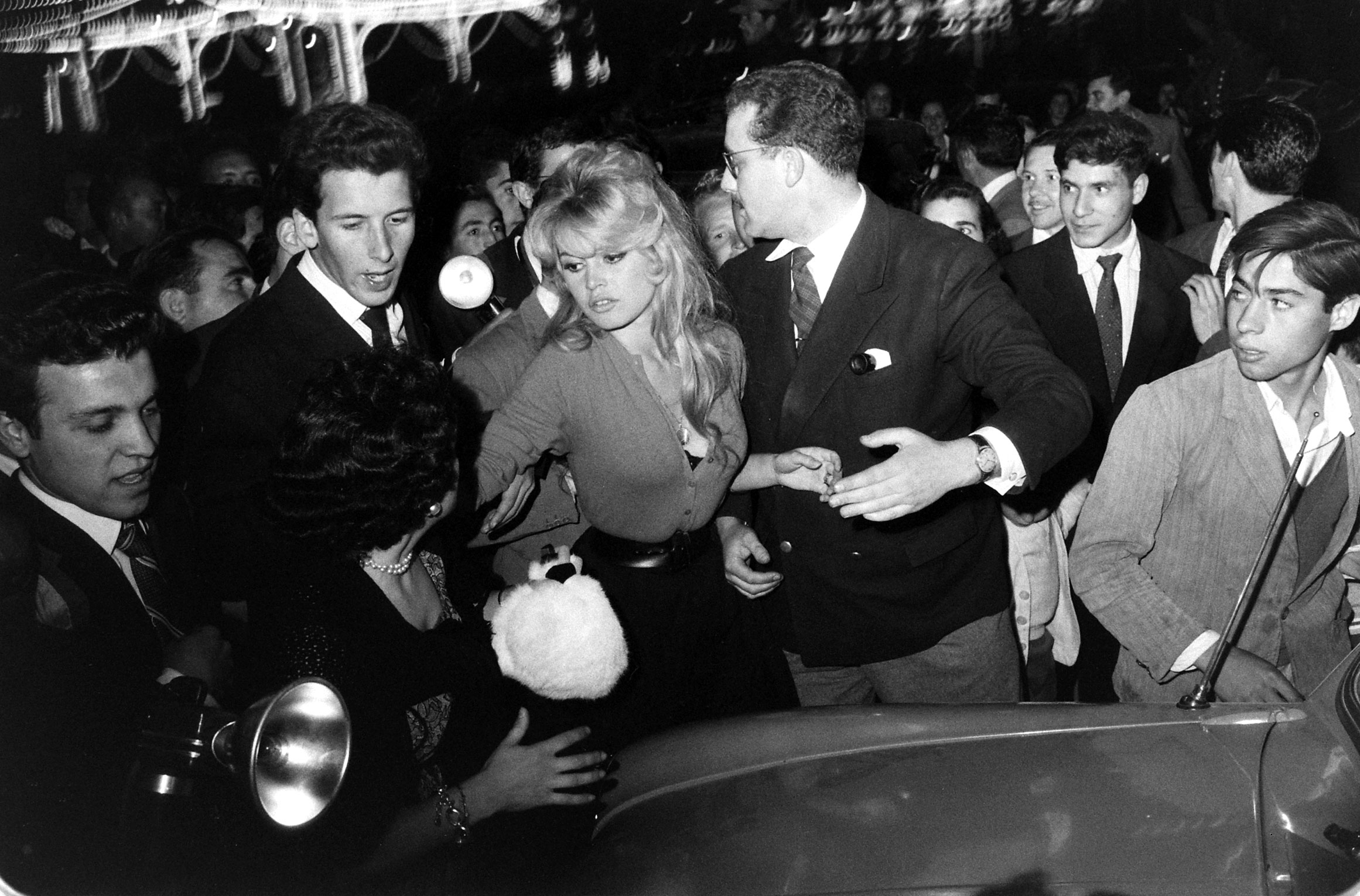 Brigitte Bardot photographed at the time she was making the film, <i>La Femme et le Pantin</i>, Spain, 1958.