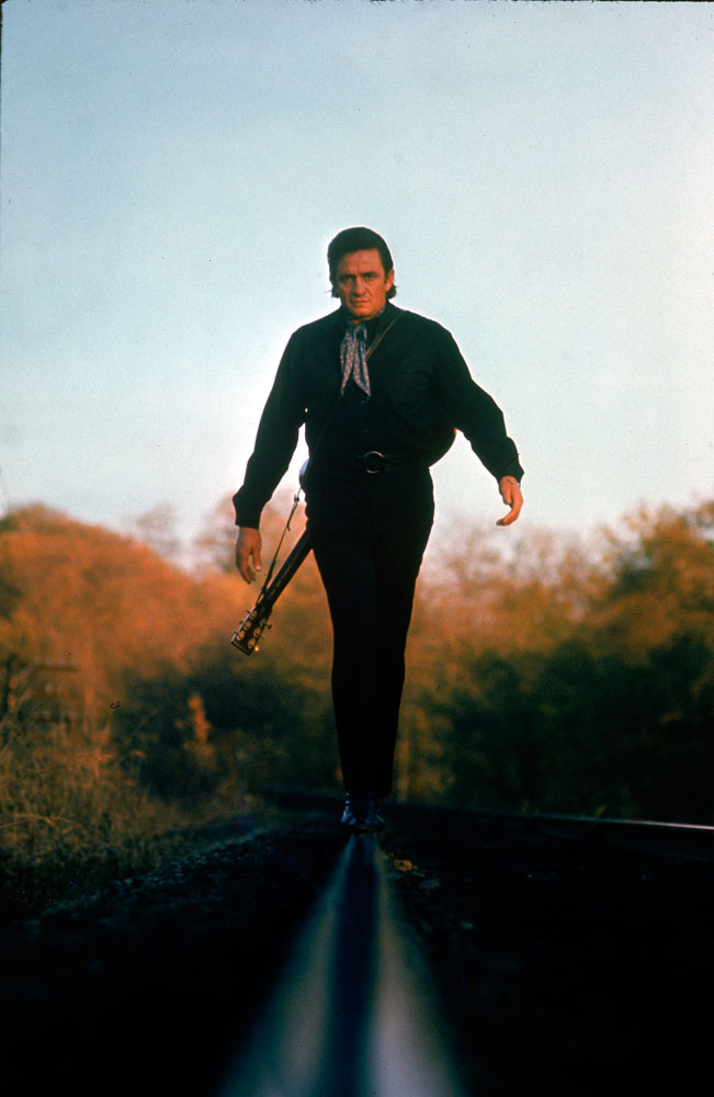 Johnny Cash in Tennessee, 1969.