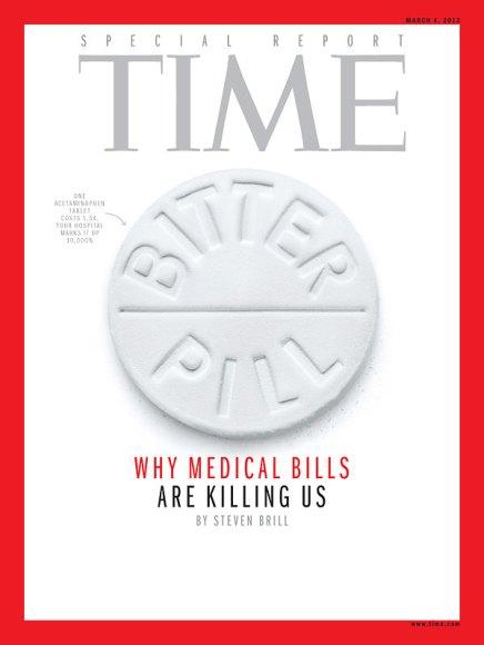 Time Magazine Bitter Pill Cover