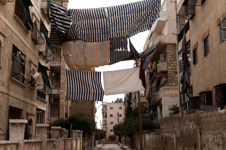The al-Izaa neighborhood in south Aleppo.