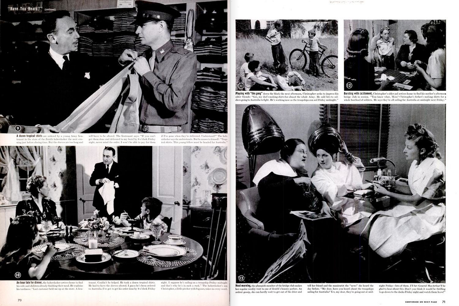 "LIFE magazine, July 13, 1942. Best viewed in ""full screen"" mode. See button at right."