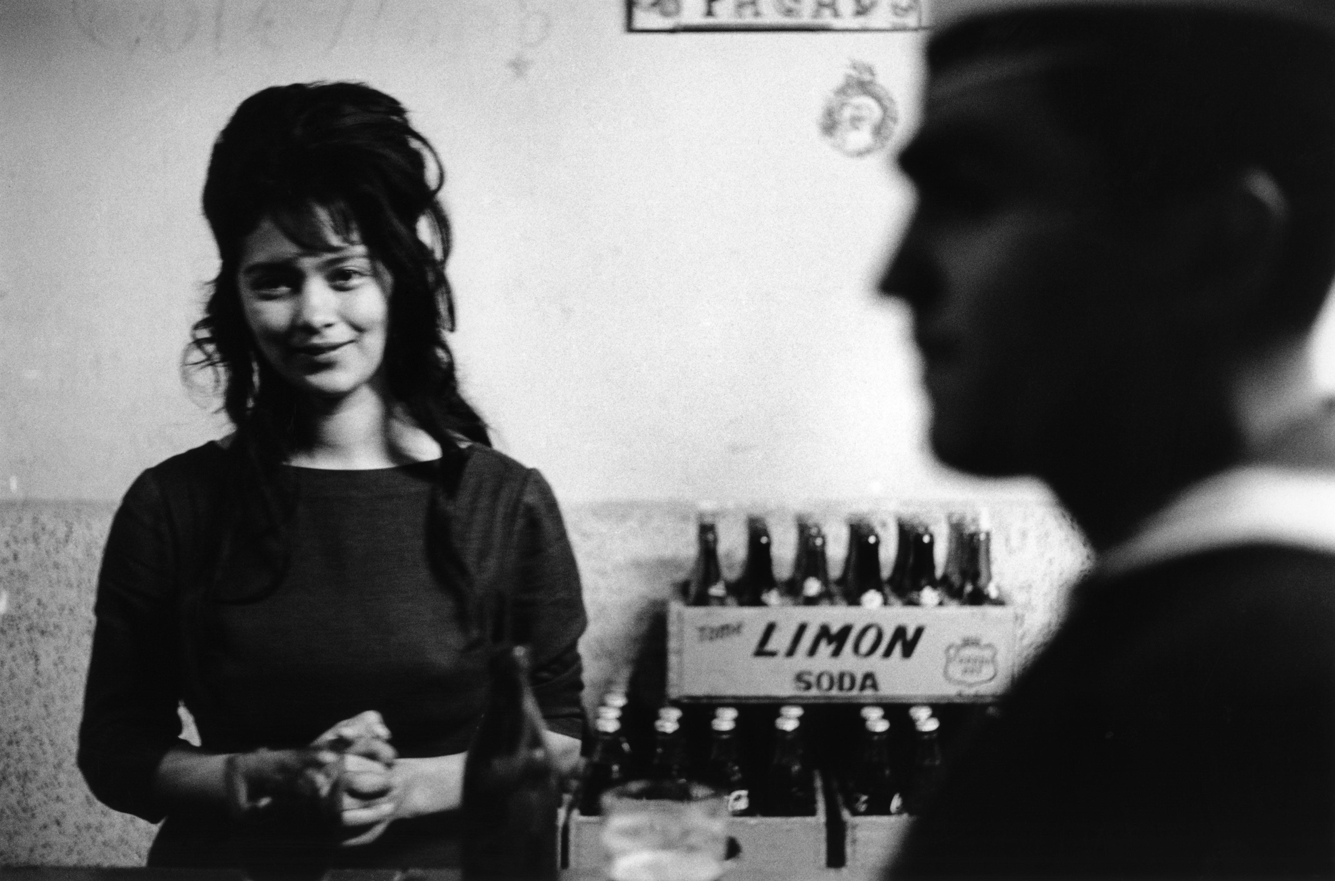 Cafe de Marin in Valparaiso, Chile, 1963.