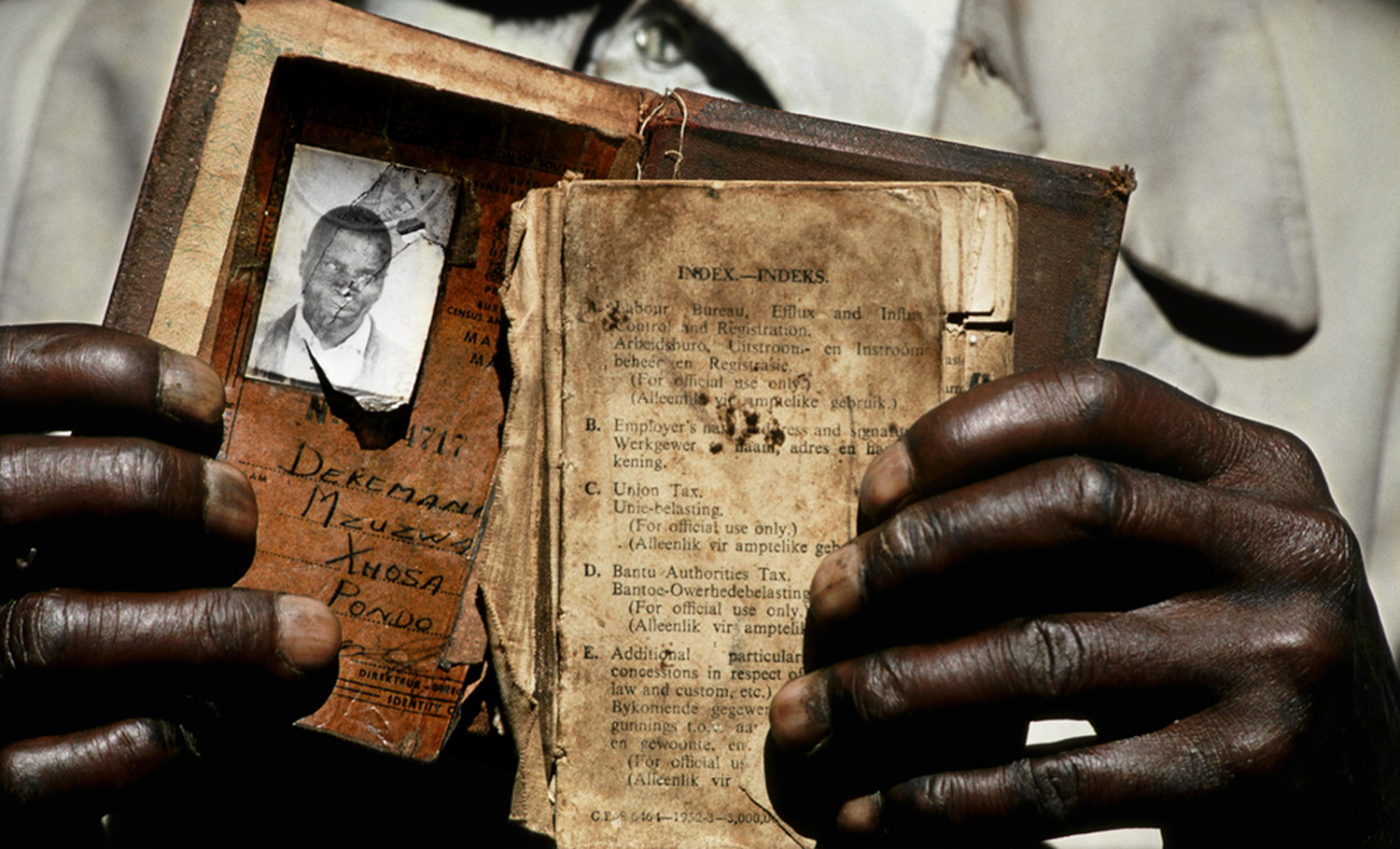 Under the tenants of apartheid, every South African of color was stripped of South African citizenship, obligated to carry a passbook at all times and relegated to their tribal identities — all in order to ensure governance at the hands of a white minority. 1994.
