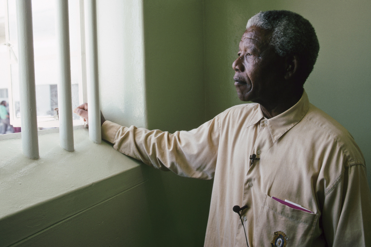Nelson Mandela was sent to Robben Island with a life sentence for treason for his participation in the African National Congress (ANC) in 1964. He spent 19 of his 27 years in this prison cell on Robben Island, and the remaining years on the mainland on the edge of Cape Town in Pollsmoor Prison.