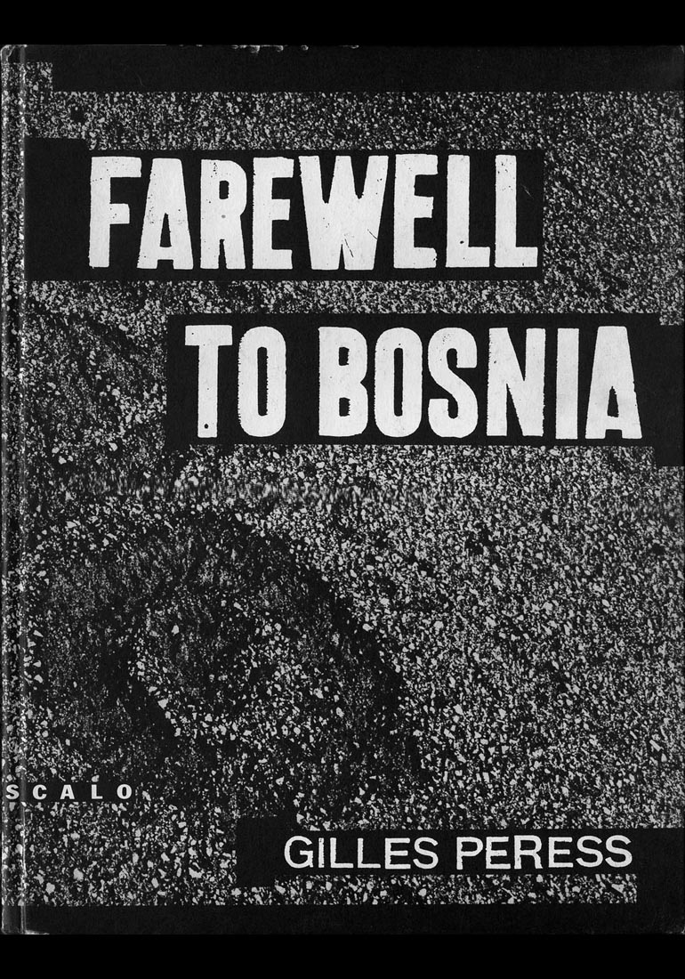 Farewell to Bosnia, photos by Gilles Peress, 1994                                                               Many art directors have big egos and really want to impose their hand, their vision of a thing. But some art directors, like Yo, want to look at the world and are really not trying to interject themselves too much. Very often, a book is like a baby, you just have to try not to choke it. So Yolanda is wonderful to work with because she goes with you. She went with me and just let the book, the baby, breathe.                                                               And this is really what I appreciate about Yolanda: her great kindness and this great gentleness in approaching the process. She is putting the work, which is the book, ahead of her own ego.  —Gilles Peress