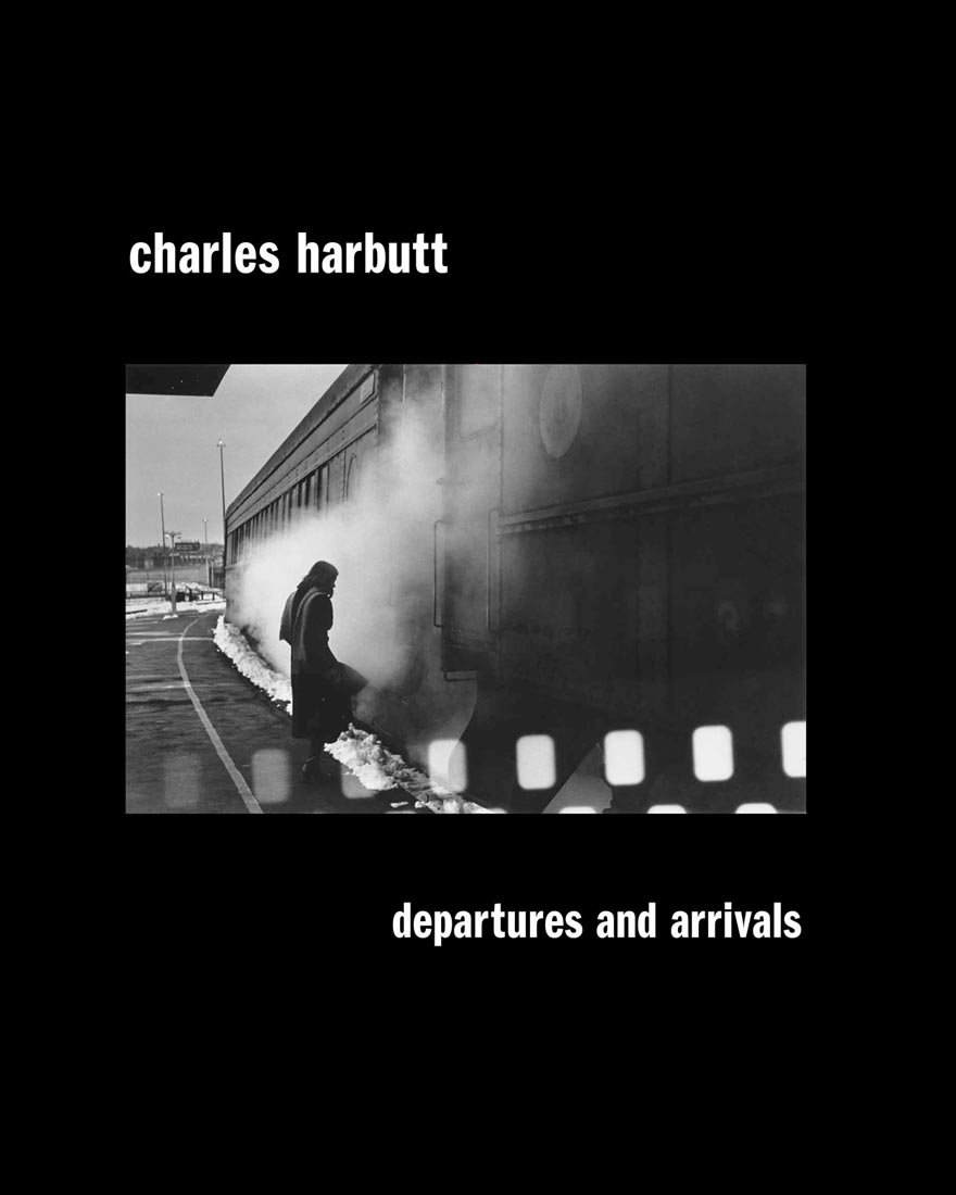 Departures and Arrivals, photos by Charles Harbutt, 2012                                Yo has an uncanny ability to see a picture, going past subject matter, past content, past design to grasp the visceral thrust of an image. Watching her do a layout is like seeing a great jazz musician playing: trying this, trying that, laughing at a joke, then snatching a perfect pair and moving it to the end of her long work table to join other pairs and eventually to be melded into a riff, a sequence and the book.  —Charles Harbutt