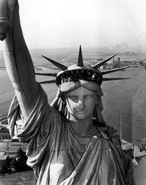 Statue of Liberty, 1951.