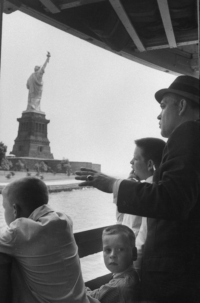 Statue of Liberty, 1959.