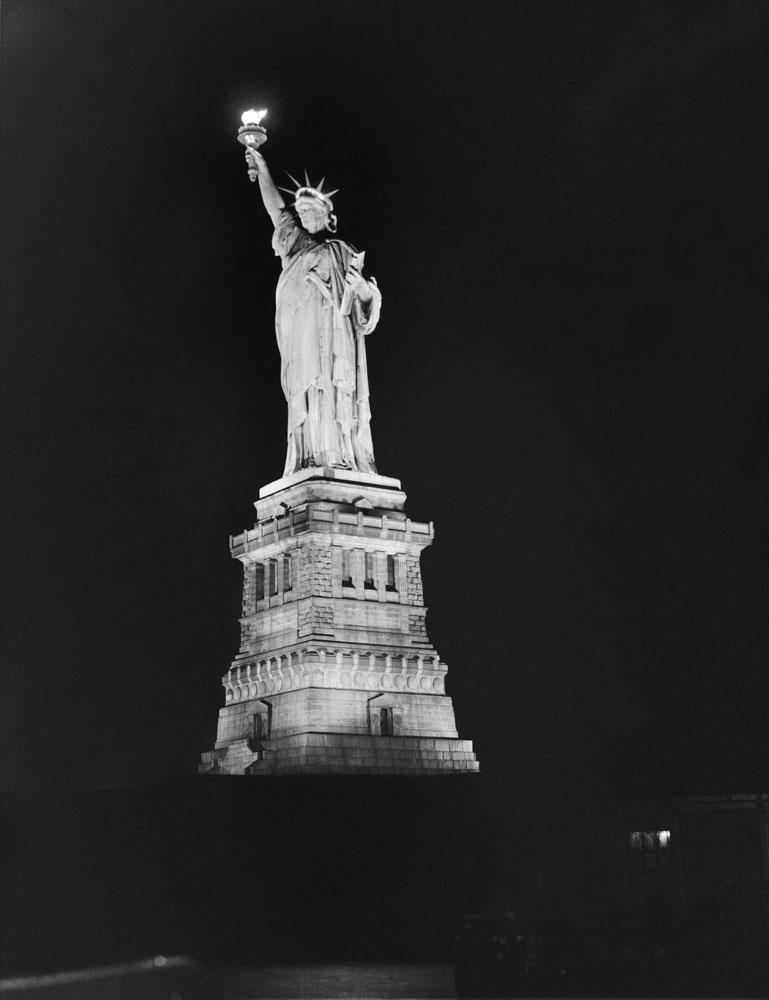 Statue of Liberty, 1931.