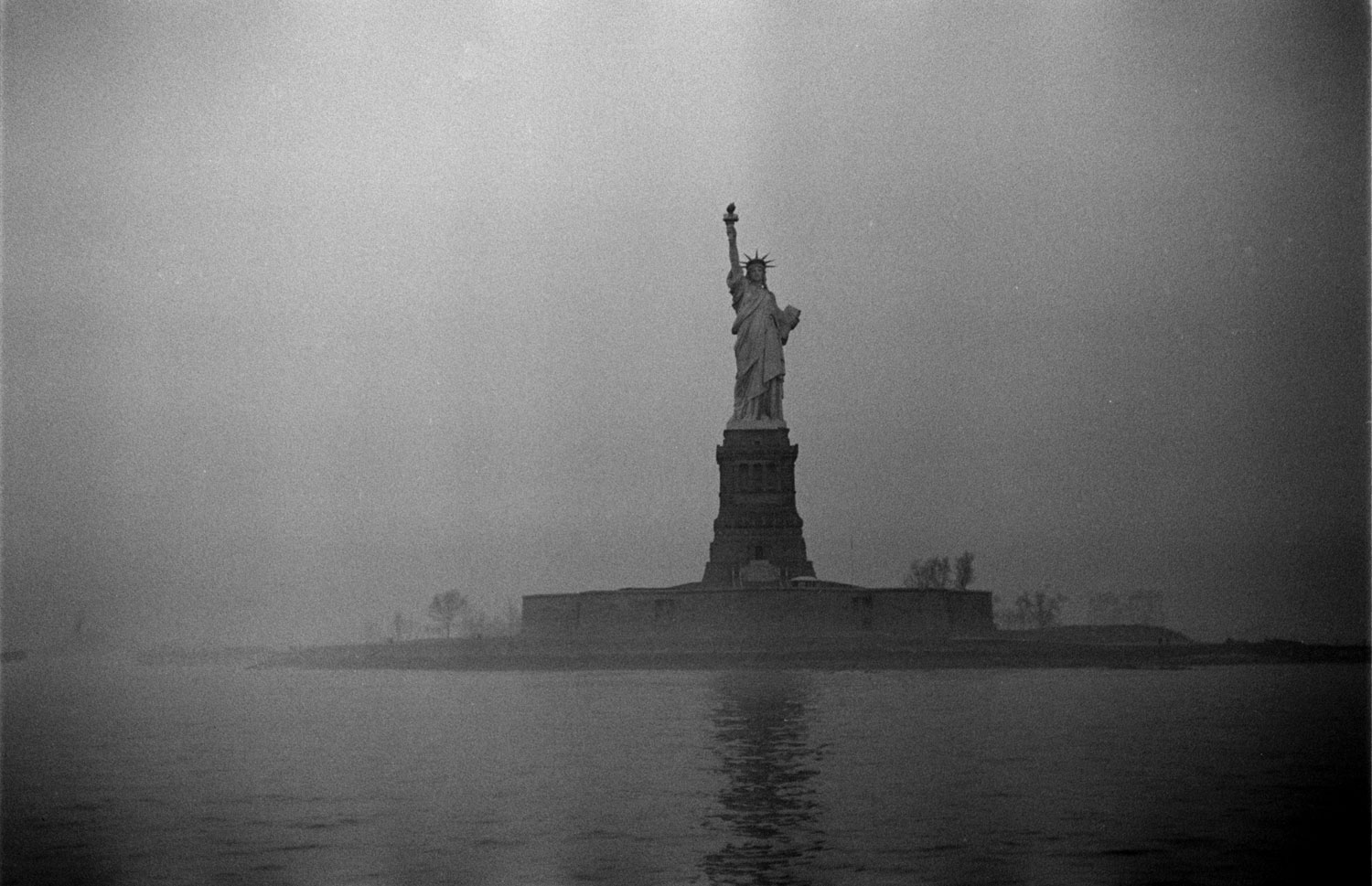 Statue of Liberty, unknown date.