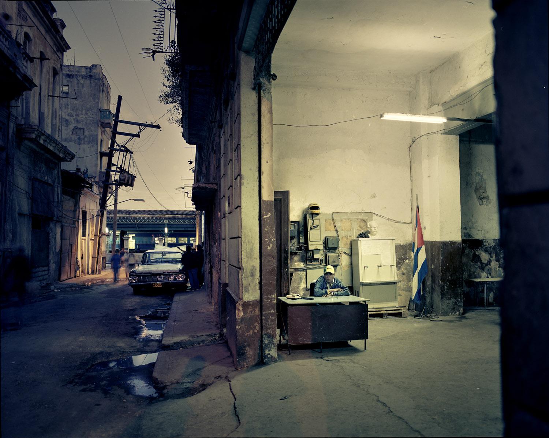 Old Havana at dusk.