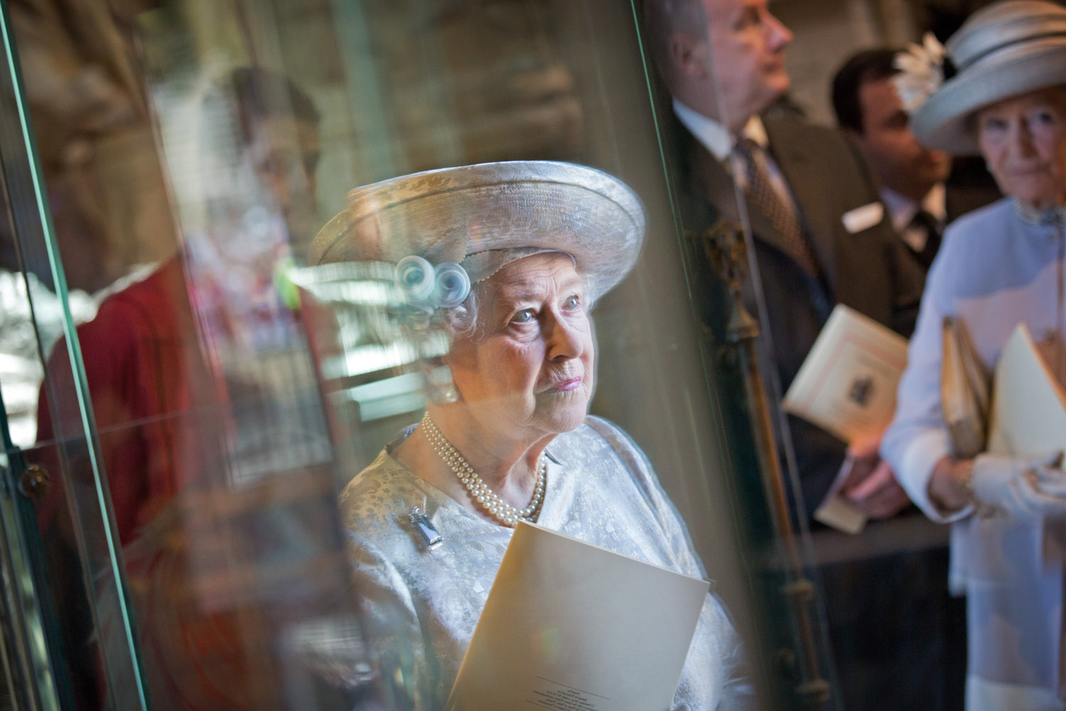 June 4, 2013. Queen Elizabeth II as she attends a service at Westminster Abbey in central London to mark the 60th anniversary of the Queen's coronation.