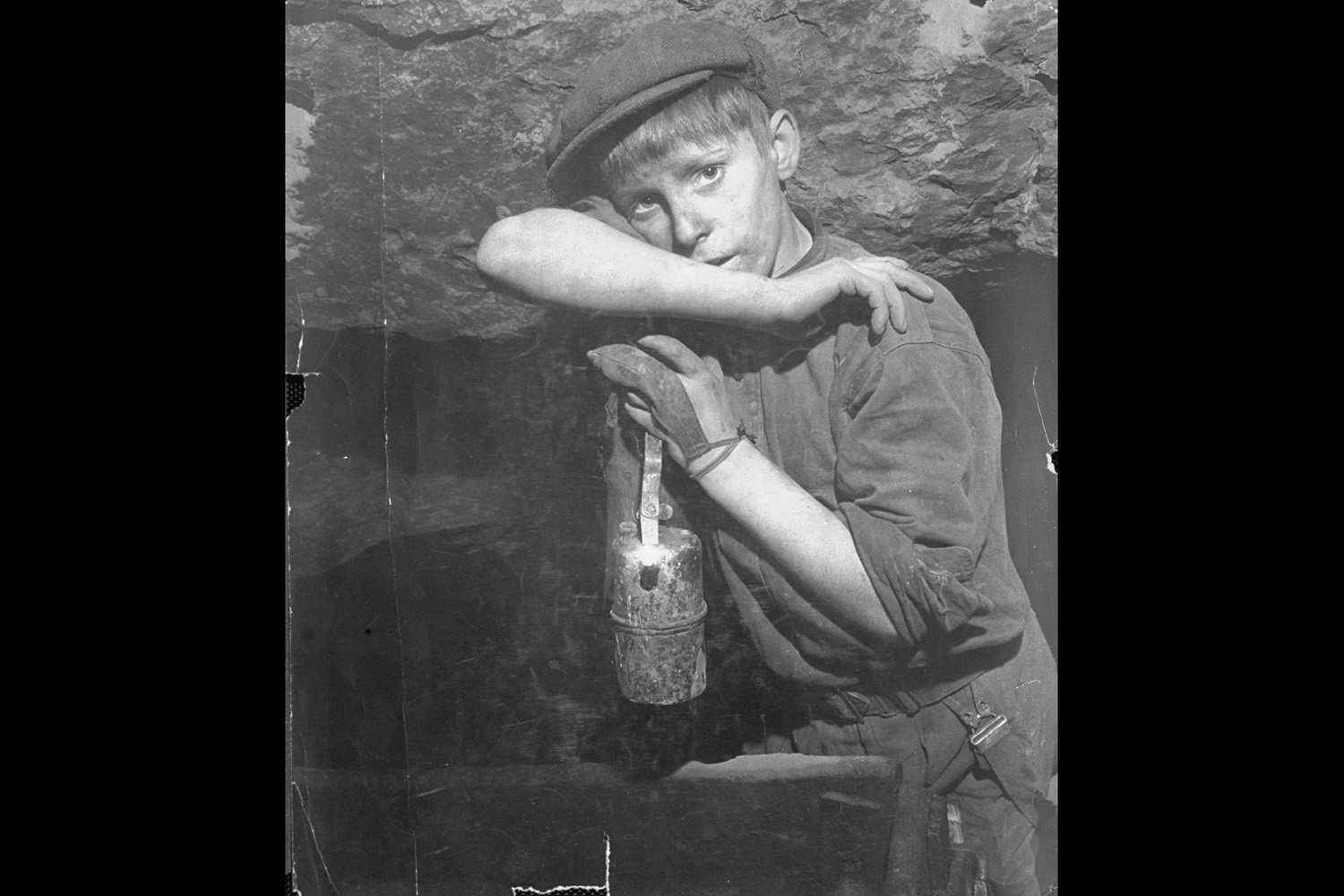 Young Welsh coal miner, 1943.