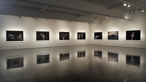 Bill Henson installation view at Tolarno Galleries, Melbourne.