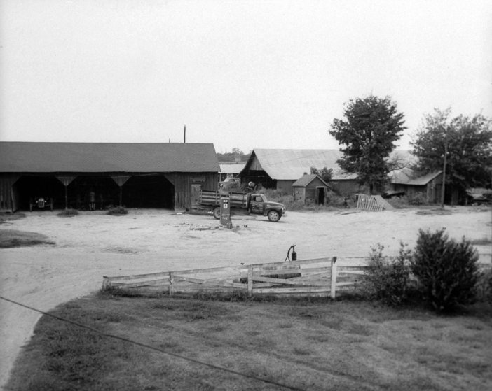 J.W. Milam's brother Leslie owned this barn near Drew, Miss. Before his murder, Emmett Till was pistol-whipped in the barn.