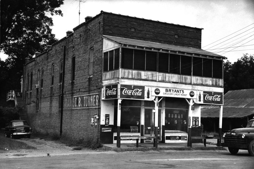 The store in Money, Miss., where Emmett Till allegedly flirted with Roy Bryant's wife Carolyn.