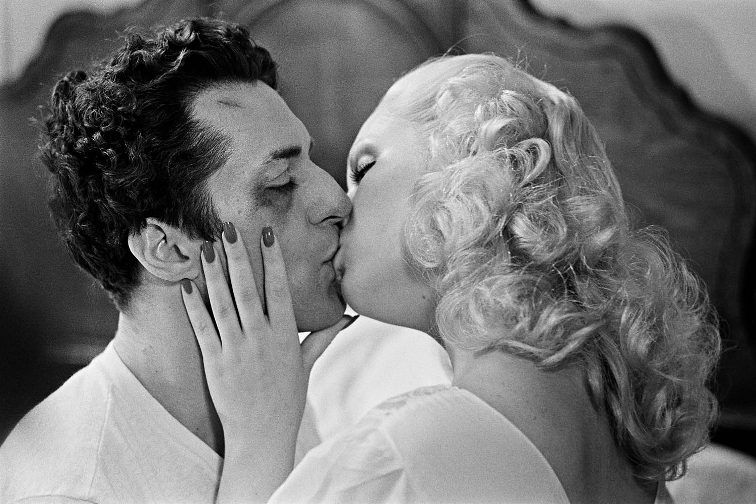 After a bout with Cathy Moriarty in Bronx.