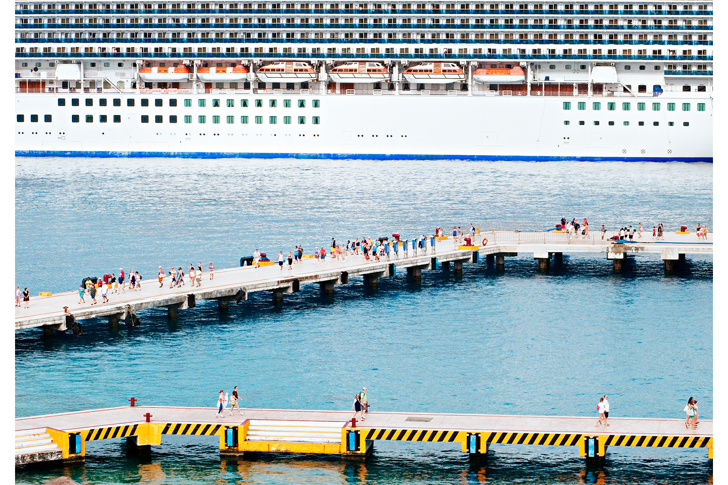 Cruise terminal in Cozumel, Mexico, 2010