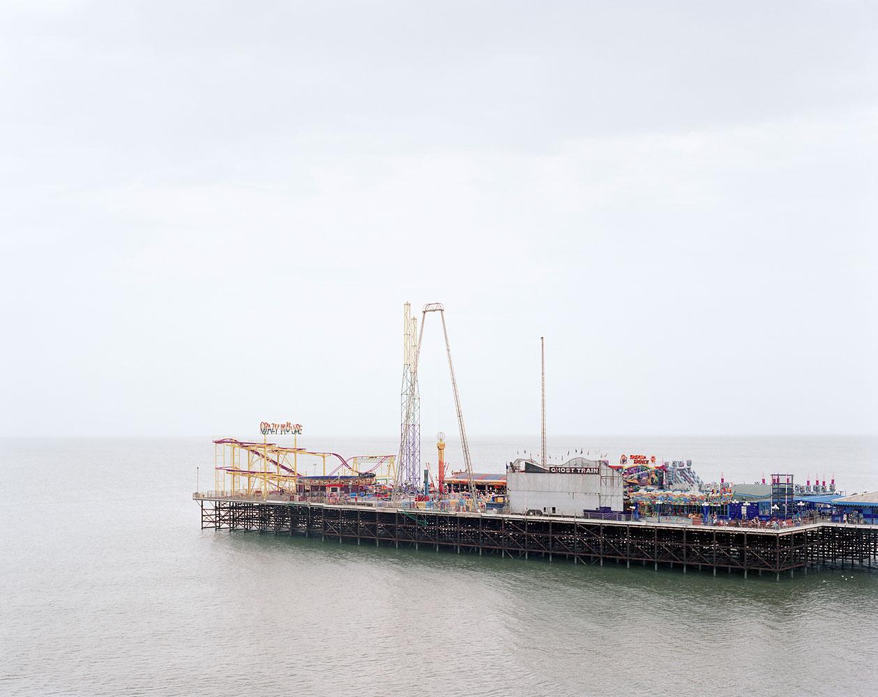 Blackpool South Pier, Lancashire, July 2008
