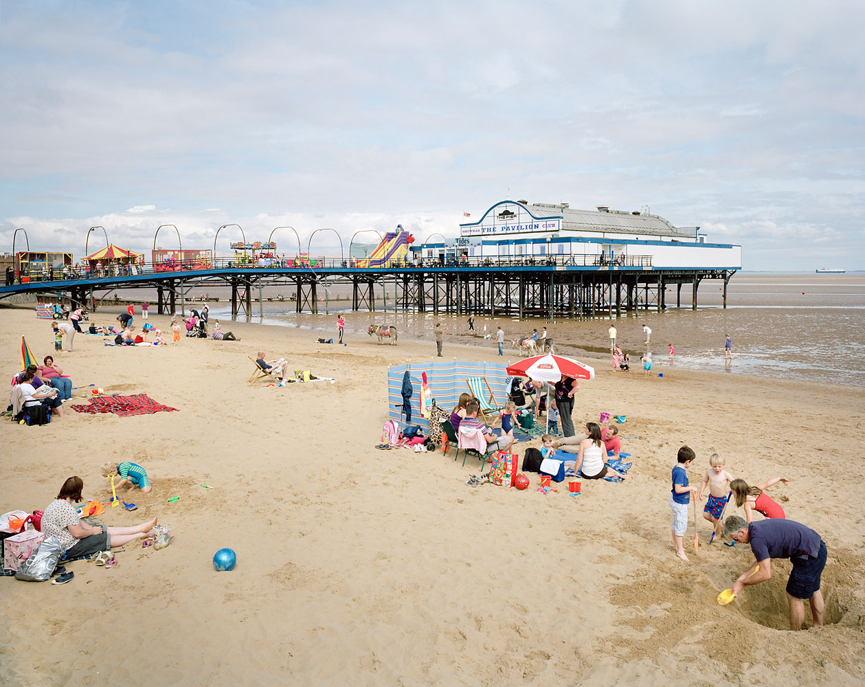 Cleethorpes Pier, North East Lincolnshire, September 2012