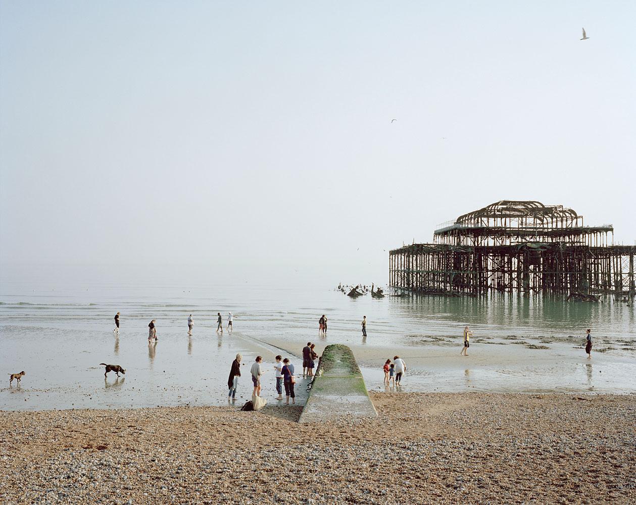 Brighton West Pier, East Sussex, April 2011