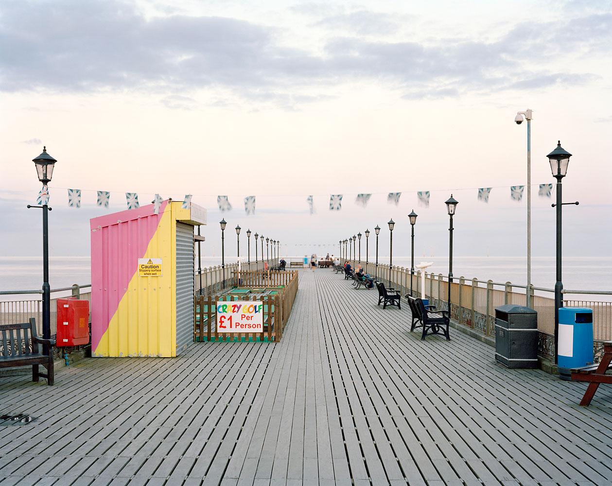 Skegness Pier, Lincolnshire, September 2012