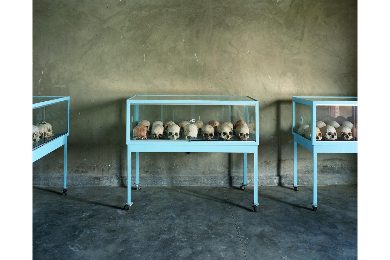 Murambi genocide memorial site, Rwanda, 2012