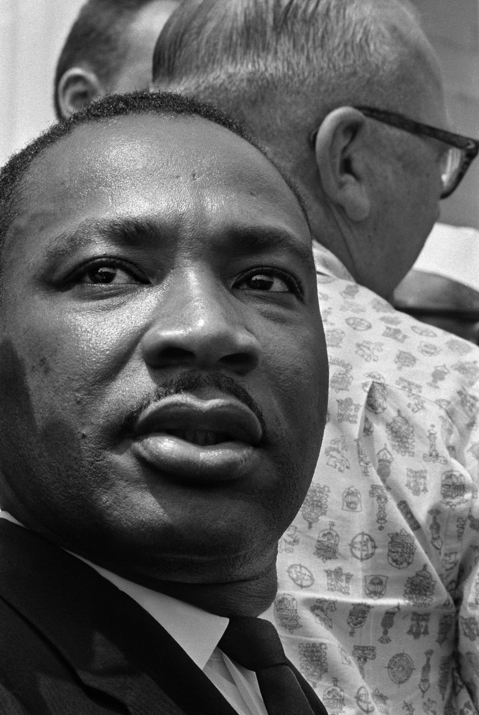 Martin Luther King at the March on Washington, Aug. 28, 1963.