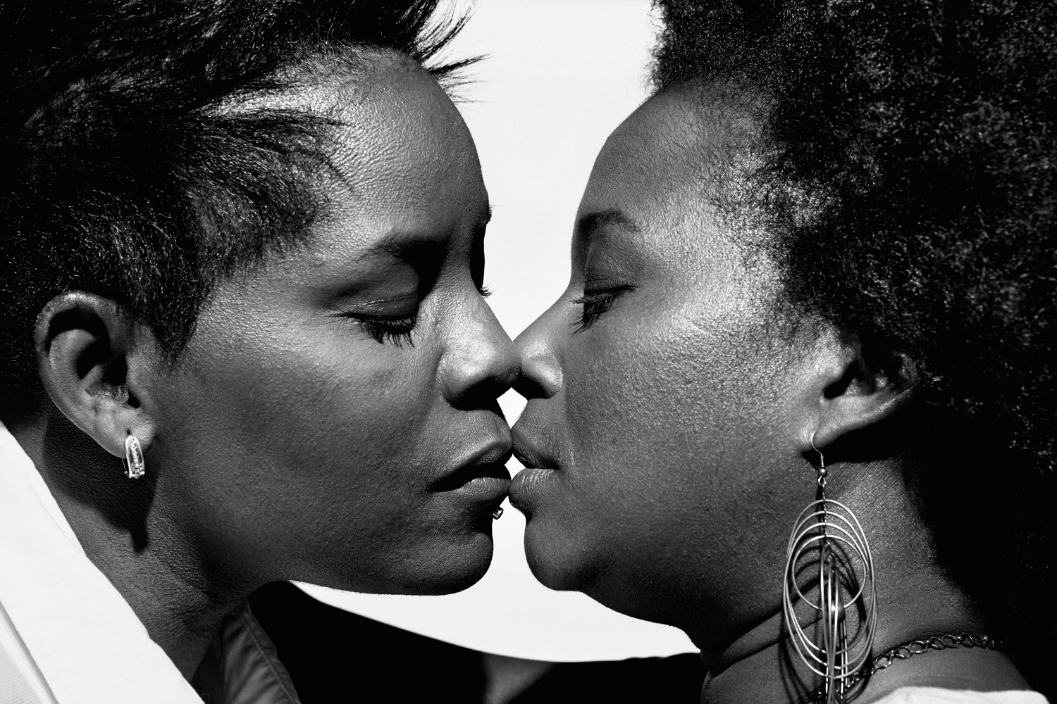 Elaine Harley, left, and Mignon R. Moore. From  How Gay Marriage Won,  April 8, 2013 issue.