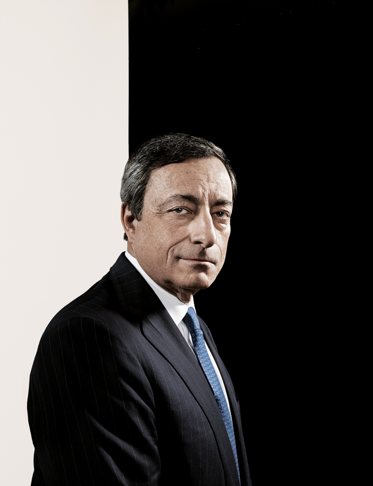 Mario Draghi. From  The 100 Most Influential People in the World,  April 29, 2013 issue.