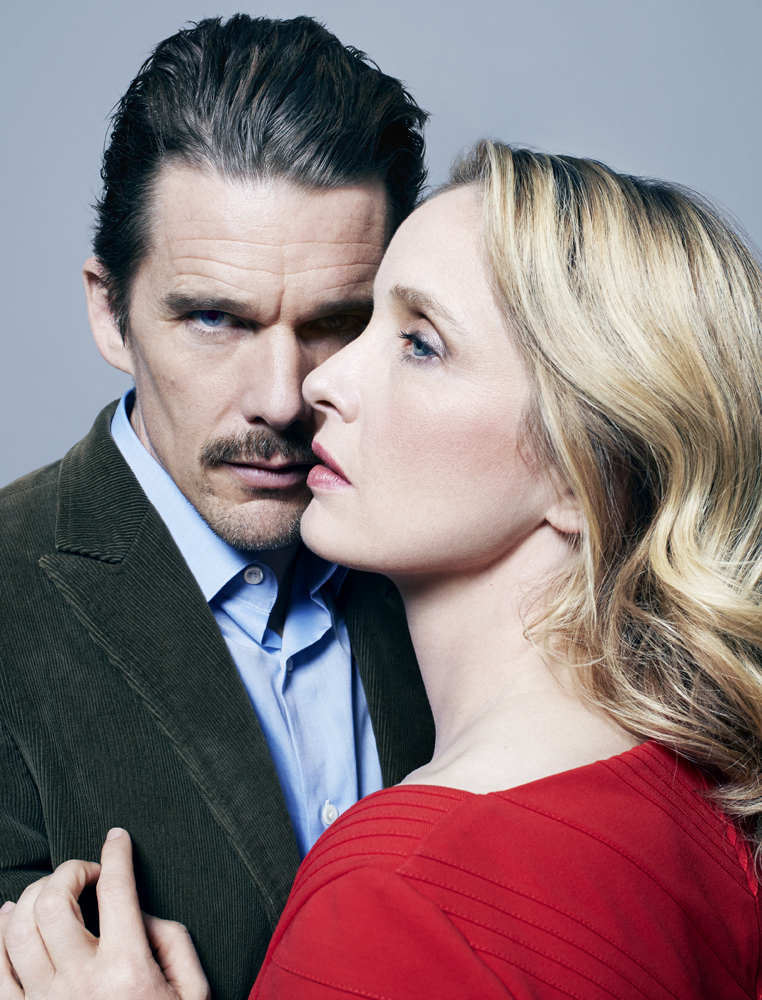 Ethan Hawke, left, and Julie Delpy. From  They'll Be Your Mirror,  May 27, 2013 issue.