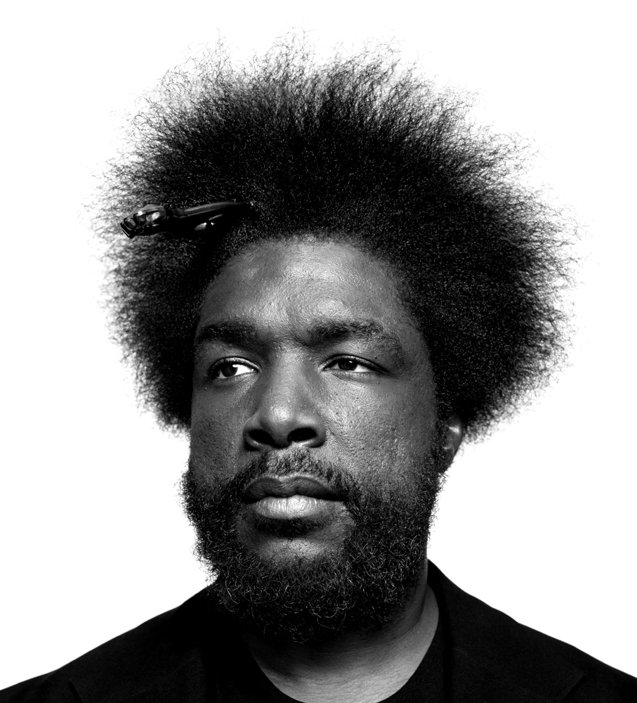 Ahmir 'Questlove' Thompson. From  10 Questions,  June 24, 2013 issue.