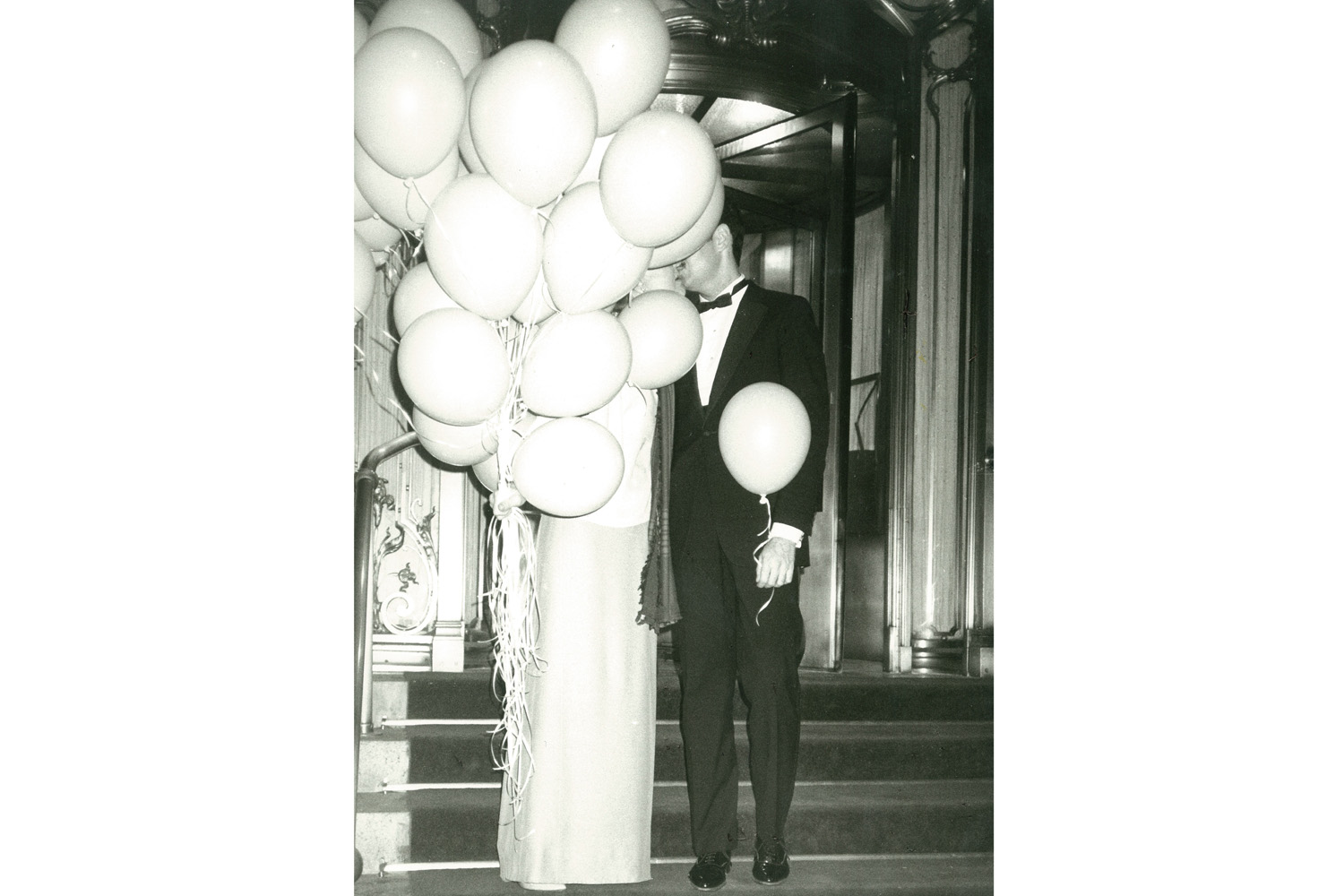 Couple with Balloons, Plaza Hotel, New York City