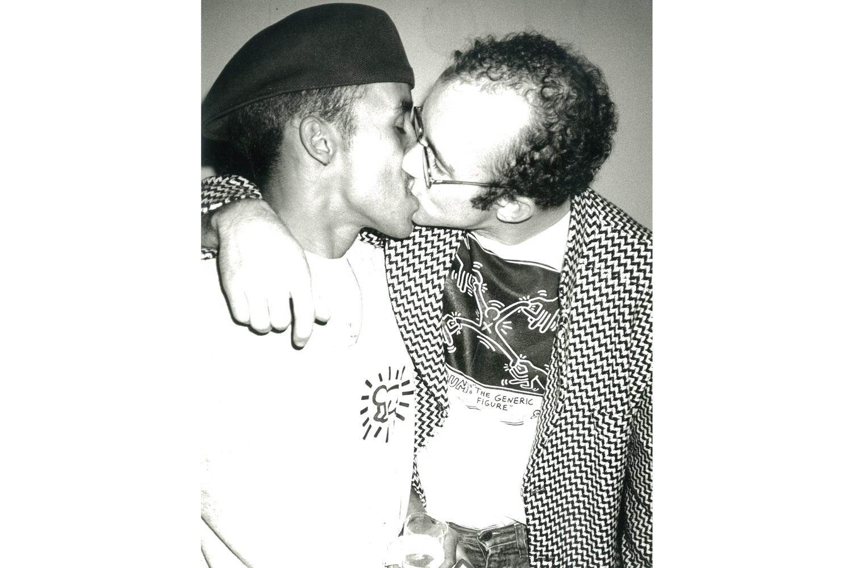 Keith Haring and Juan 2